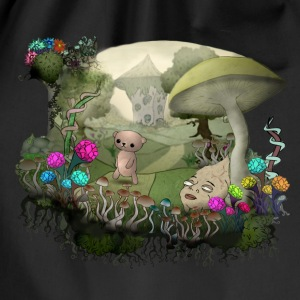 Teddy and the shrooms T-Shirts - Turnbeutel