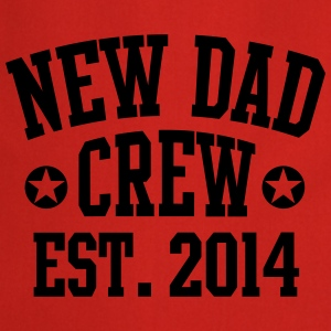 NEW DAD CREW Est. 2014 T-Shirt RW - Cooking Apron