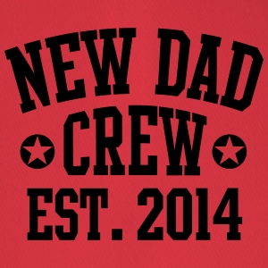 NEW DAD CREW Est. 2014 T-Shirt RW - Flexfit lippis