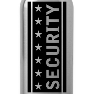 Stars Security Logo T-Shirts - Water Bottle