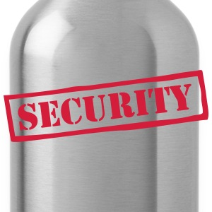 Security Muscle Penguin T-Shirts - Water Bottle