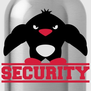 Security Muscle Penguin T-shirts - Drikkeflaske