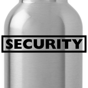 Security Design T-Shirts - Water Bottle
