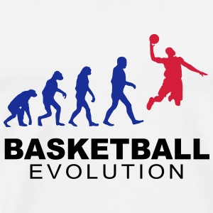 Basketball evolution Hoodies & Sweatshirts - Men's Premium T-Shirt