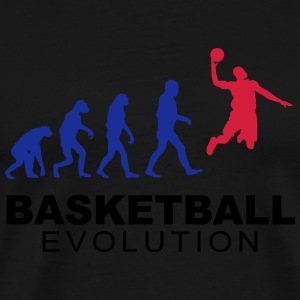 Basketball evolution Pullover & Hoodies - Männer Premium T-Shirt