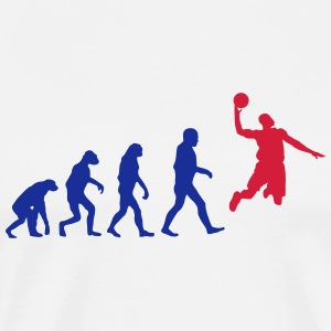 Basketball evolution logo Hoodies - Men's Premium T-Shirt