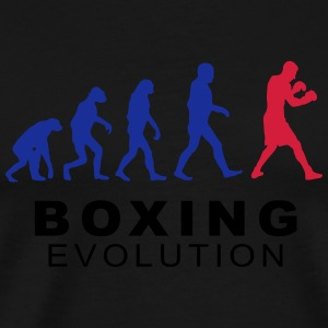 Boxing evolution Pullover & Hoodies - Männer Premium T-Shirt