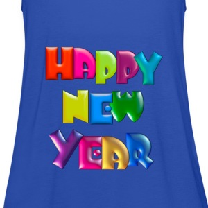 Happy New Year T-Shirt - Women's Tank Top by Bella