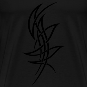 Tribal, filigran, Tattoo, filigree Langarmshirts - Männer Premium T-Shirt