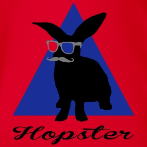hopster - hipster T-Shirts - Baby Bio-Kurzarm-Body