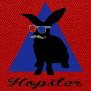 hopster - hipster T-shirts - Snapback Cap