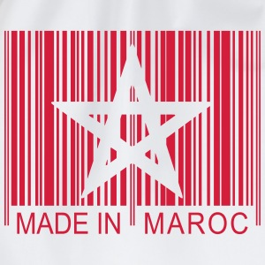 Code barre Made in MAROC 1c T-Shirts - Turnbeutel