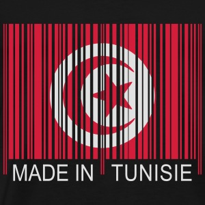 Code barre Made in TUNISIE Sweat-shirts - T-shirt Premium Homme