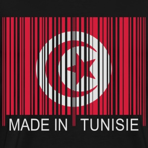 Code barre Made in TUNISIE Pullover & Hoodies - Männer Premium T-Shirt