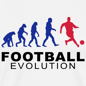 Football Evolution Hoodies - Men's Premium T-Shirt