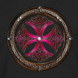 Fabulous Pink Celtic Cross.png Tee shirts - T-shirt manches longues Premium Homme