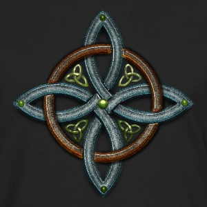 Metal Celtic Cross 4 points.png Tee shirts - T-shirt manches longues Premium Homme