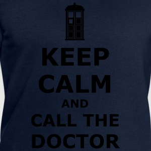 Keep calm and call the doctor T-shirts - Mannen sweatshirt van Stanley & Stella
