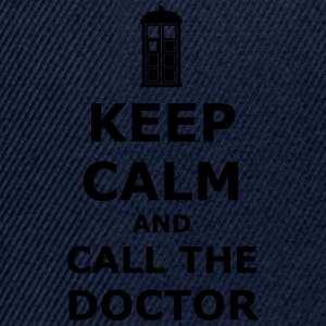 Keep calm and call the doctor T-shirts - Snapback cap