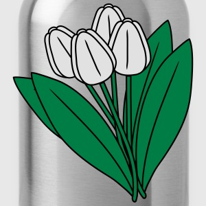 Tulips T-Shirts - Trinkflasche