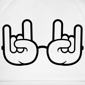 Heavy Metal Glasses T-shirts - Baseballcap