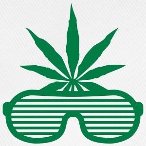 Weed Party Glasses T-shirts - Baseballkasket