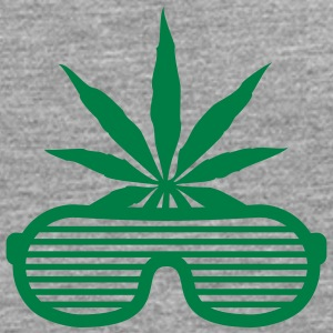 Weed Party Glasses T-Shirts - Men's Premium Longsleeve Shirt