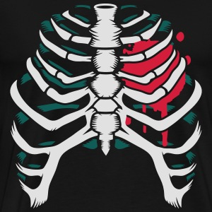 A skeleton of a human thorax Hoodies & Sweatshirts - Men's Premium T-Shirt