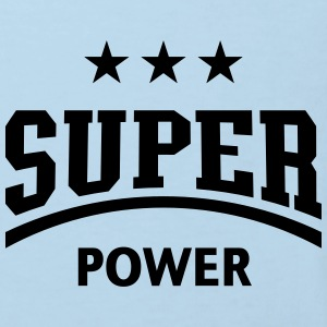 Super Power (Sport) Baby Body - Kinder Bio-T-Shirt