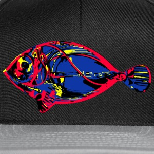 Poisson exotique 2 Tee shirts - Casquette snapback