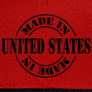 made_in_united_states_m1 Tee shirts - Casquette snapback