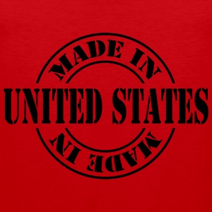 made_in_united_states_m1 Tee shirts - Débardeur Premium Homme