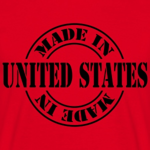 made_in_united_states_m1  Aprons - Men's T-Shirt