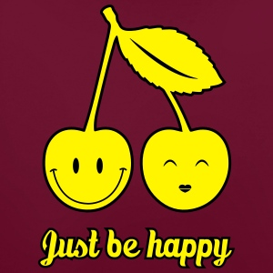 Just Be Happy T-Shirts - Contrast Colour Hoodie
