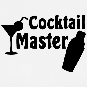 Cocktail Master  Aprons - Men's Premium T-Shirt
