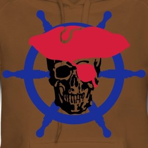 skull pirate Tee shirts - Sweat-shirt à capuche Premium pour femmes