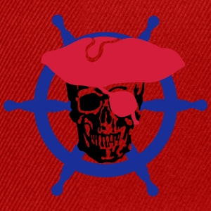 skull pirate T-Shirts - Snapback Cap