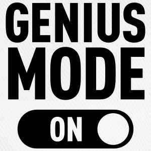 Genius Mode (ON) T-Shirts - Baseball Cap