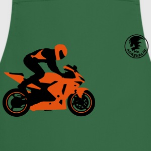 motorcycle stunt T-Shirts - Cooking Apron
