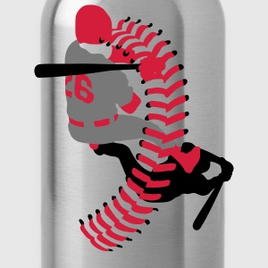 baseball player T-Shirts - Water Bottle