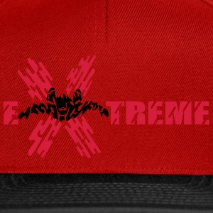 skydiver extreme Tee shirts - Casquette snapback