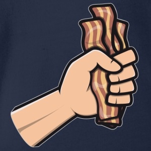 bacon_hand T-Shirts - Baby Bio-Kurzarm-Body