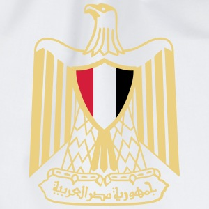 Coat of Arms of Egypt T-Shirts - Drawstring Bag