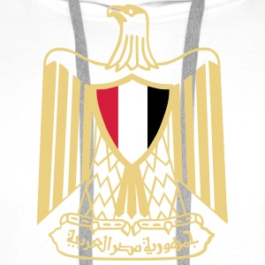 Coat of Arms of Egypt T-Shirts - Men's Premium Hoodie