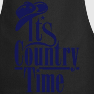 ITS COUNTRY TIME T-Shirts - Kochschürze