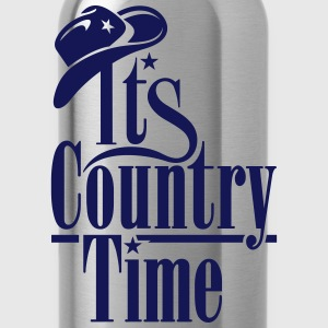 ITS COUNTRY TIME T-Shirts - Trinkflasche