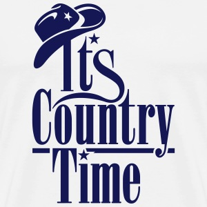 ITS COUNTRY TIME Pullover & Hoodies - Männer Premium T-Shirt