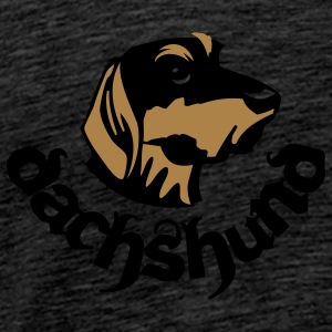 dachshund_rugged_workmate Sweaters - Mannen Premium T-shirt