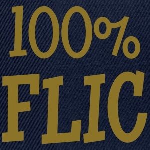 100% Flic Tee shirts - Casquette snapback