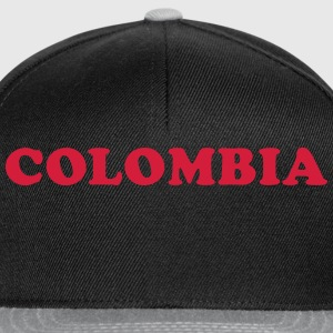 Colombia T-Shirts - Snapback Cap
